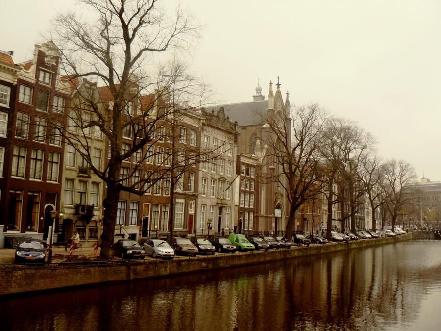 Amsterdam Winter wallpaper