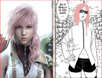 Lightning and Karin by pokemaniac34