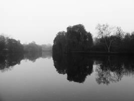 landscape in mirror by rockmylife