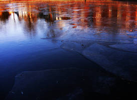 ice on water and worm colors by rockmylife