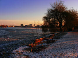 an frozen landscape by rockmylife
