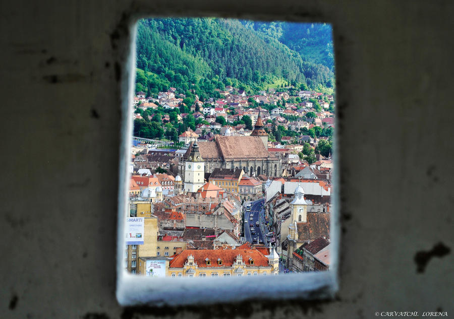 Brasov from upside by rockmylife