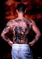 Tattoed back