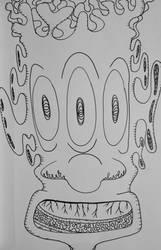 startled alien