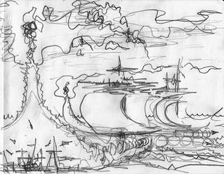 flame ships
