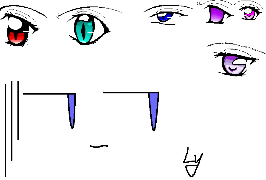 Vampire Anime Eyes anime eyes by lycoris-vampire