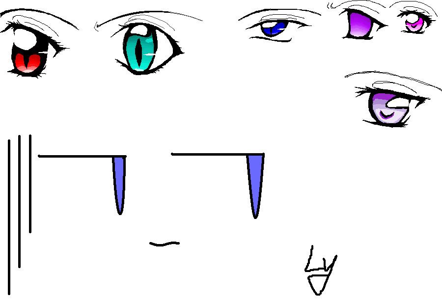 Vampire Anime Eyes anime eyes by lycoris-vampire