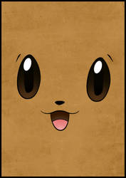 Minimal Eevee by JordenTually