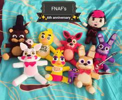 HAPPY FNAF'S 6th ANNIVERSARY
