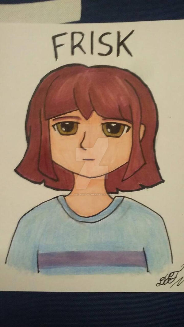 Frisk - Undertale - markers