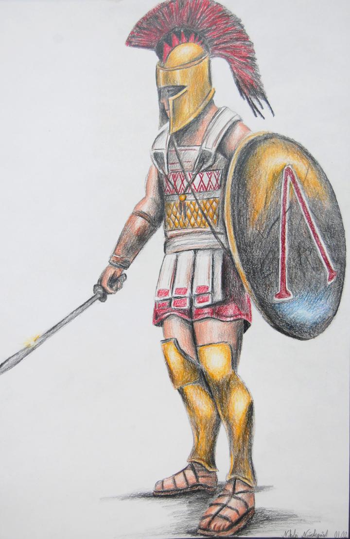 Greek Hoplite by Nikko707 ...  sc 1 st  DeviantArt & Greek Hoplite by Nikko707 on DeviantArt