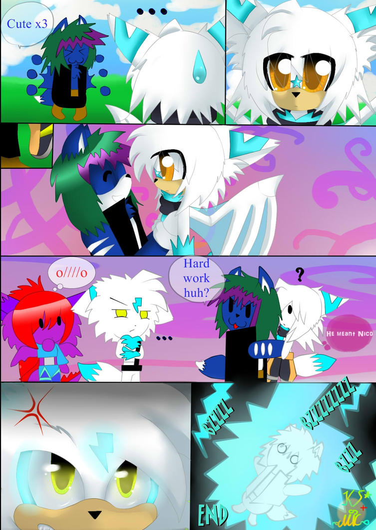 Collab comic COLOUR- Dont aggravate Nero... by KenotheWolf
