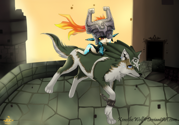 TLOZ -Twilight Princess- Saving my Friends by KenotheWolf