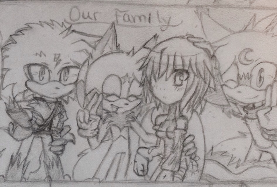 Our Family by KenotheWolf