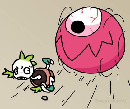 Eye-balled!