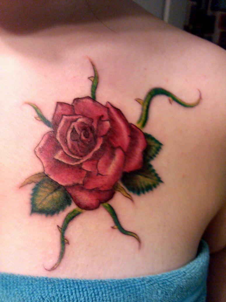 rose vine tattoo by asheano1 on deviantart. Black Bedroom Furniture Sets. Home Design Ideas