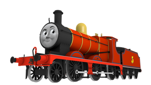 RELEASE - James the Red Engine (OLD  VERSION) by explosivecookie