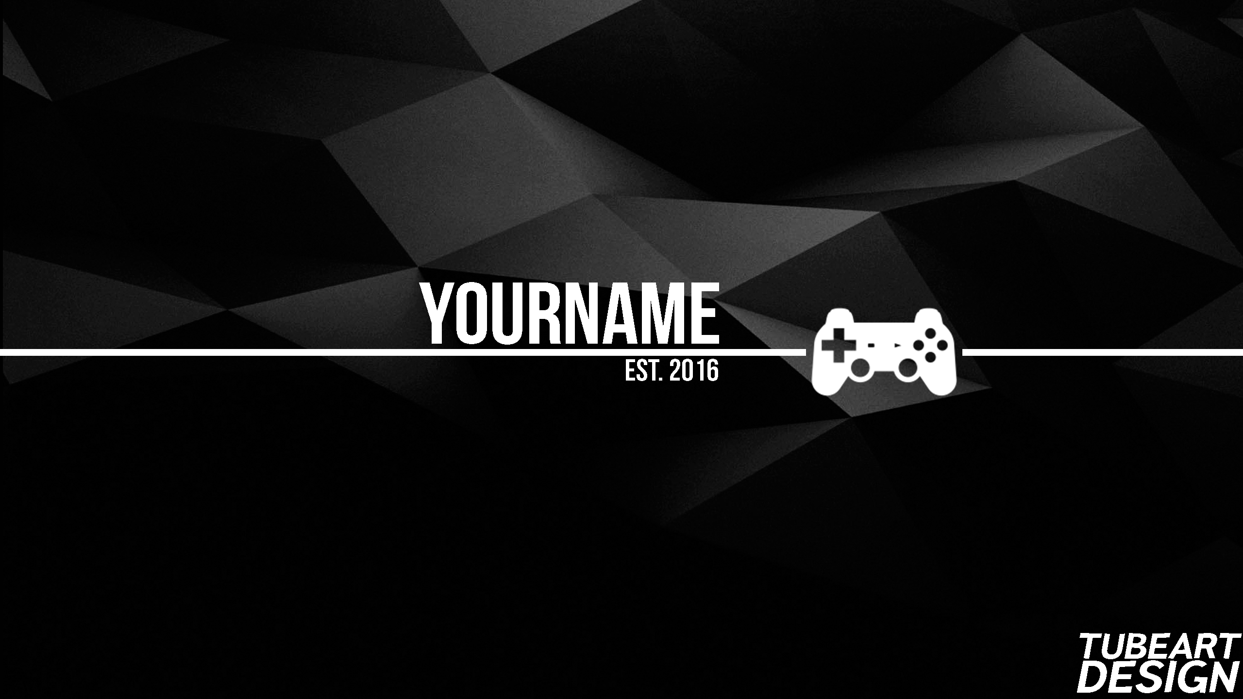 Youtube Gaming Banner Free By Tubeart On Deviantart