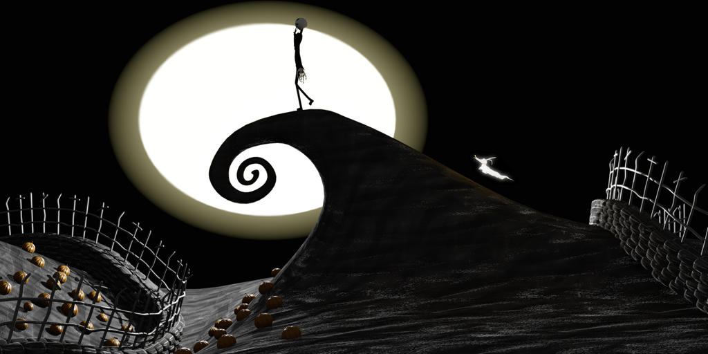 Curly Hill Nightmare Before Christmas version 2 by TravisGatlin on ...