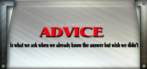 Advice by M10tje