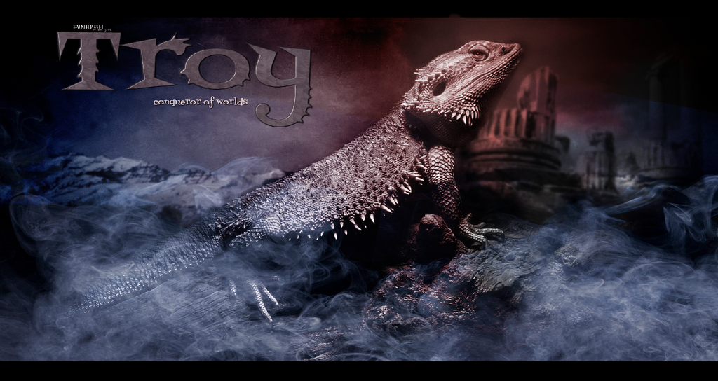 TROY Conqueror of Worlds by HauntedPuppet by M10tje