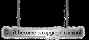 Copyright criminal png