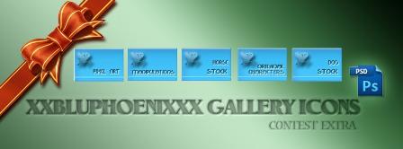 xXbluphoenixXx icons by M10tje