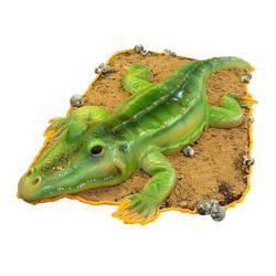 crocodile-cake by azsammaiski