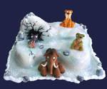 ice age-cake2 by azsammaiski