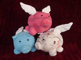 Pigs by NataliaVulpes