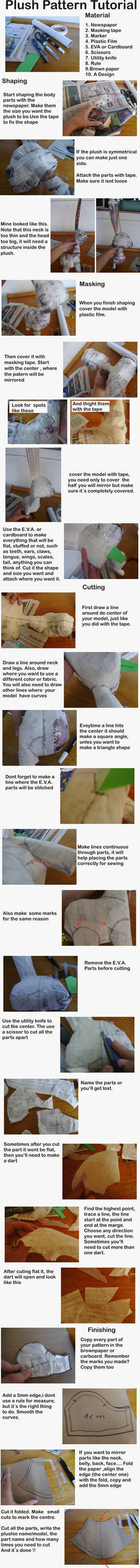 Plushie Pattern Tutorial