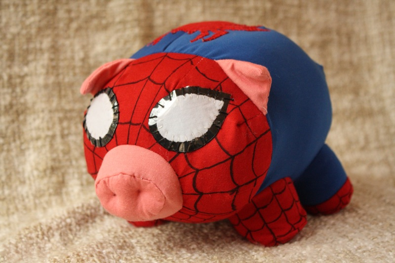 The Amazing Spider-Pig by NataliaVulpes
