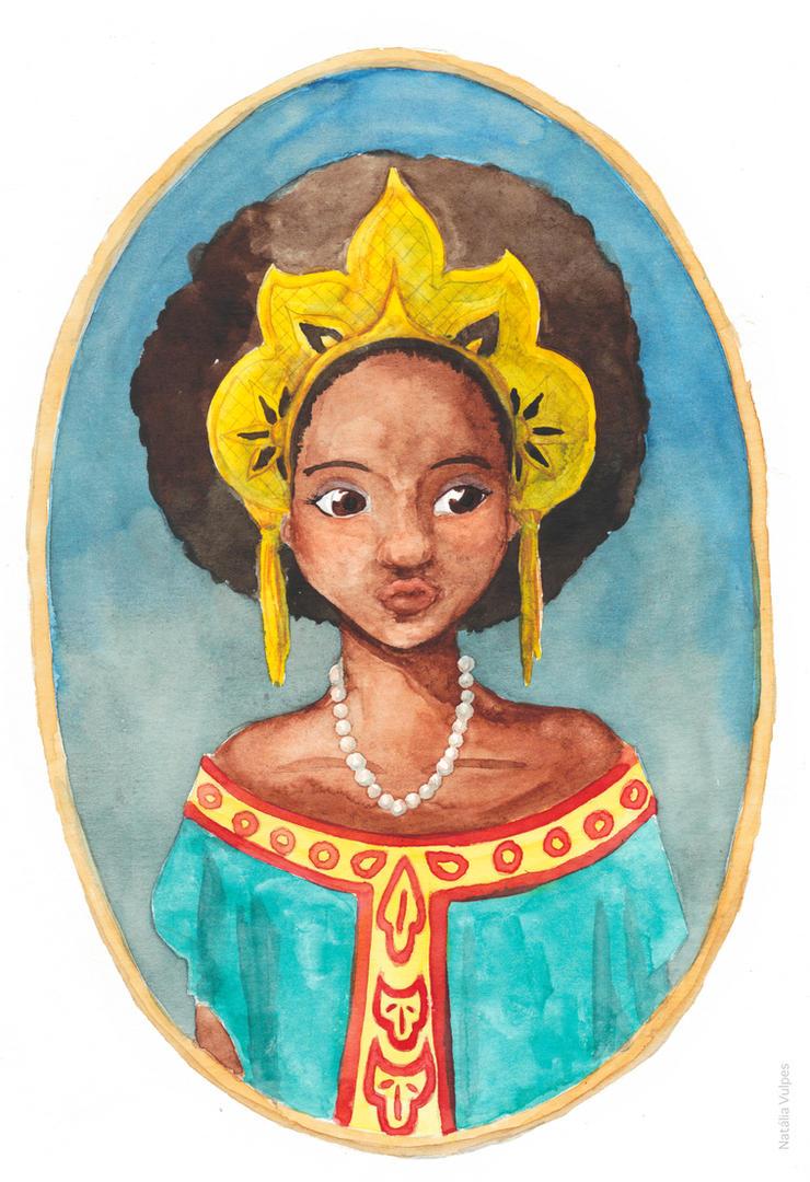 princess by NataliaVulpes