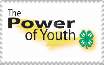 4-H the power of youth stamp by PioneeringAuthor