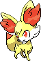 Fennekin Sprite by RockingScorpion
