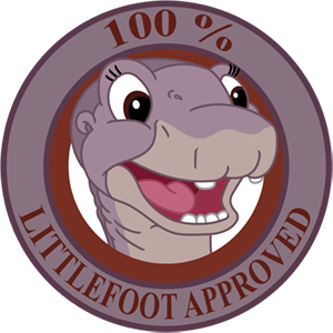 Littlefoot Approved Sticker by RockingScorpion