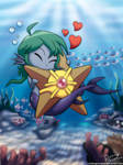Fish got Star, Fish happy