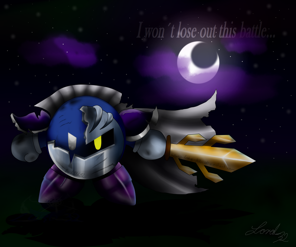 meta knight by lord32 on deviantart
