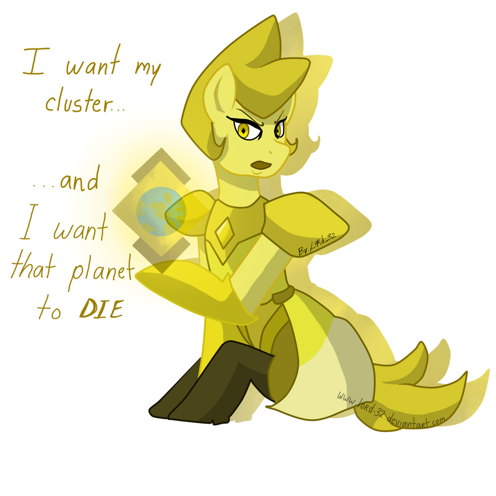 Message Received Yellow Diamond Mlp By Lord 32 On Deviantart