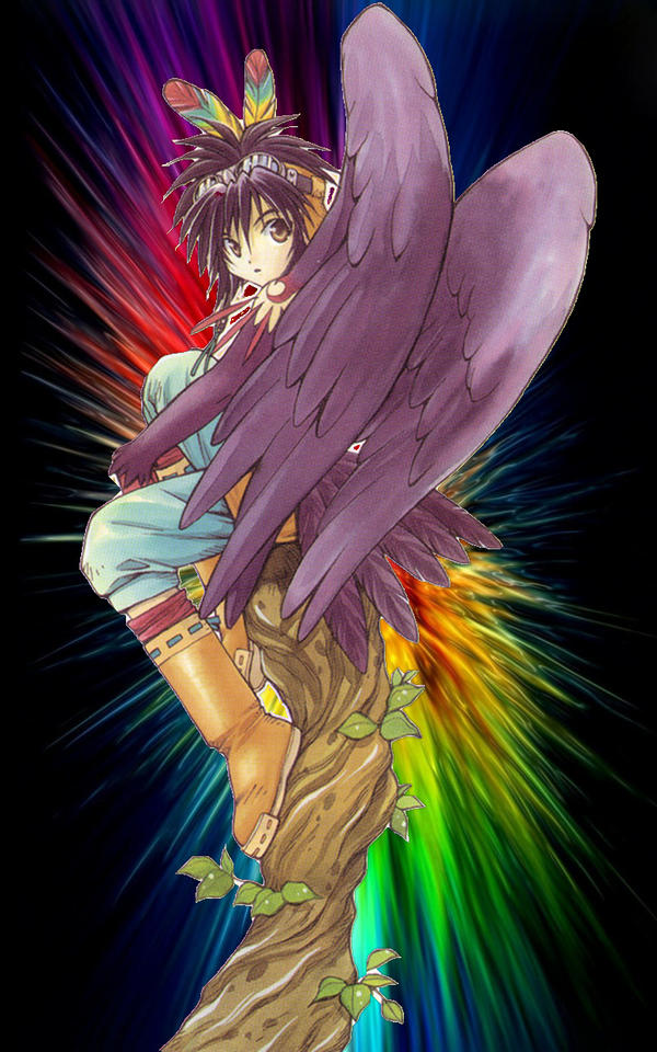 The Winged Hero.
