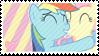 001 | Flutterdash Stamp by FlutterDashFans