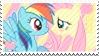 002 | Flutterdash Stamp