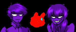 Purple Guy vs Purple Guy - FIGHT!
