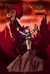 Triumph of the kill by PaleoartStudios
