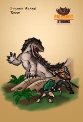 The Dragon by PaleoartStudios