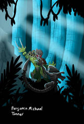 Alien vs Predator by PaleoartStudios