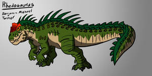 Rhedosaurus final redesign
