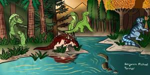 Victorian Dinosaurs Premium Gallery Sneak Peek