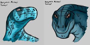 Victorian Dinosaurs Deinodon redesign