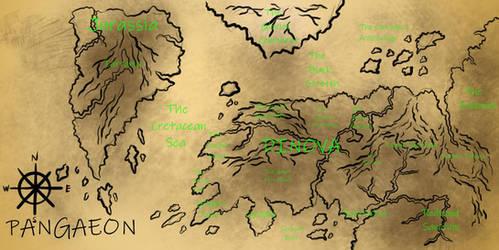 The World of Pangaeon by PaleoartStudios